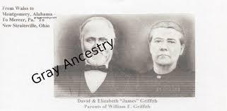 William E. Griffith + Ella Gordon Gibson – Gray Ancestry