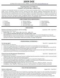 Consultant Resume Example Inspiration Consultant Resume Samples Financial Consultant Resume Template