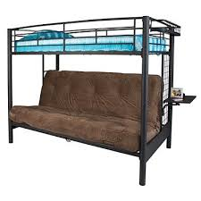 Come see our great selection of beds at Big Lots Metal frame Bunk bed  holds standard twin mattress Metal futon frame holds standard futon pad  Built in