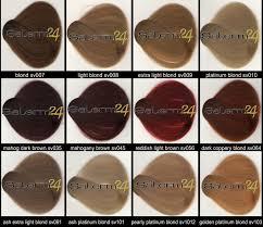 Salerm Semi Permanent Hair Color Chart Salerm Hair Color Hair Colors Idea In 2019