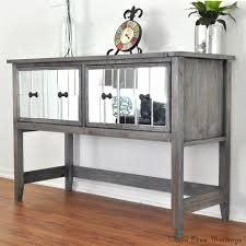 how to make mirrored furniture. Brilliant How Build Your Own DIY Mirrored Console Table Step By Step Tutorial Shows How  Easy It Intended How To Make Mirrored Furniture O