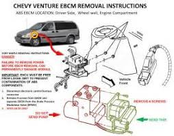 similiar 2003 venture brakes keywords 2001 chevy blazer ebcm relay location wiring diagram photos for help