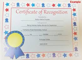 Student Of The Month Certificates Creative Shapes Etc Recognition Certificate Student Of The Month
