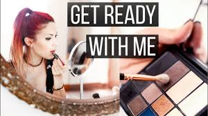 get ready with me romantic date look