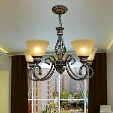 Us 1349 15 Offamerikanischen Retro Stil Eisen 5 Kopf Vintage Kronleuchter Führte Landhausstil Beleuchtung 110 V 220 V Loft Lampe Eisen