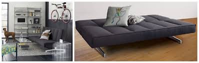 Splendid Small Space Sofa Beds By Decorating Spaces Collection Backyard View