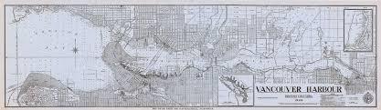 Burrard Inlet Depth Chart Vancouver Harbour British Columbia 1945 Scope And Conten
