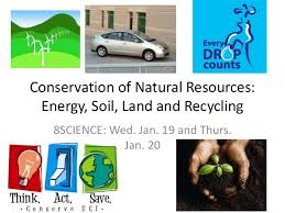 conservation of natural resources energysoil