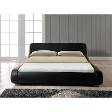 Milano Bedroom Furniture Milano Faux Leather Bed Frame With Relyon Pocket 1000 Mattress