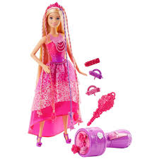 Barbie Dreamtopia Hair Princess Feature Doll - Pink