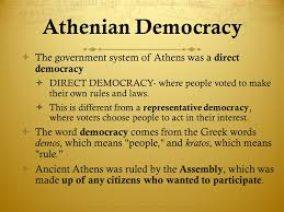 athenian form of government ancient greece 6th grade ppt video online download
