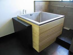 image of heated japanese bathtub