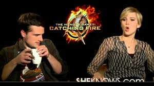 jennifer lawrence and josh hutcherson interview bloopers
