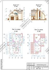 Скачать курсовой проект Одноквартирный двухэтажный жилой дом   строительства 2 раздел Архитектурно конструктивный