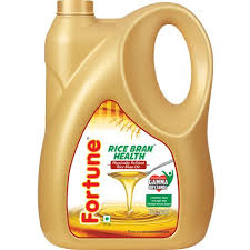 Fortune Refined Oil - Rice Bran, 5 L Can buy online, online shopping, gaya,  patna, jamshedpur, india, near by me - GroFood