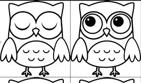 Snowy Owl Coloring Pages Print Page Printable Download Barn