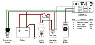 coolant temperature coolant temperature wiring diagram dual pole sensor
