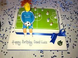 David Luizs Birthday Cake Features Him As Sideshow Bob