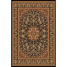 elegant black and gold area rug ( photos)  home improvement