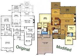 European home plans Archives   HousePlansBlog DonGardner comOriginal vs Modified floor plans  The Bosworth   by Don Gardner