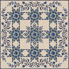 Snowflake Quilt Kit by Laundry Basket Quilts   Chitter Chatter & To reserve your Snowflake Quilt Kit place your order early. We will not  charge you until it ships. Pay Pal customers, we can request the payment  when your ... Adamdwight.com