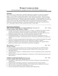 Executive Assistant Resume Examples Professional Resume Example For Senior Executive Assistant With 19