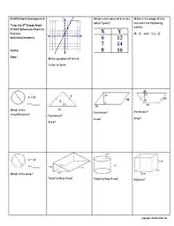 Texas 8th Grade Math Chart 8th Grade Math Staar Chart Review Checkpoint 1