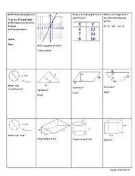 8 Grade Math Formula Chart 8th Grade Math Staar Chart Review Checkpoint 1