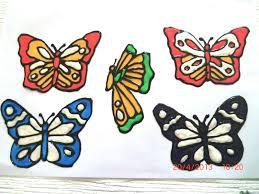 Einfache Fensterdeko Frhling Schmetterlinge Aus T