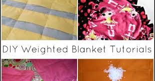 Weighted Blanket Pattern Adorable 48 DIY Weighted Blanket Tutorials Sensory Hacks For Kids And