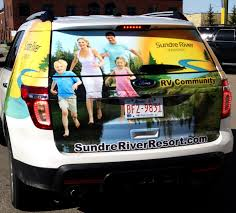 Vehicle Window Graphics By Craft Signworks San Mateo Belmont
