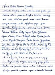 How practice handwriting latest cursive writing in benefits the ...