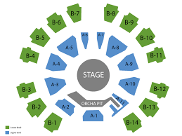 Celebrity Theatre Seating Chart And Tickets
