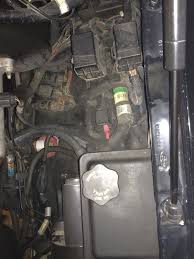 where is the central junction box page 2 ford truck 02 v10 under hood where the early ones have a fuse box just a couple relays or something here