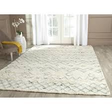 simplified 10x14 wool rug safavieh handmade casablanca ivory blue 10 x 14 free