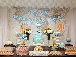 Hot Air Balloon Party Ideas For A Baby Shower  Catch My PartyVintage Hot Air Balloon Baby Shower