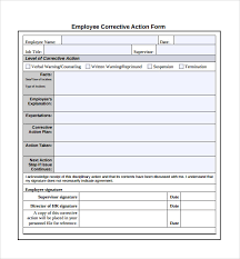 Sample Corrective Action Plan Template 14 Documents In Pdf Word