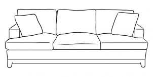 couch drawing. How To Draw A Couch Step 5 Drawing