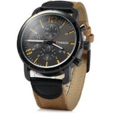 mens watches cheap best watches for men online at whole curren 8194 men quartz watch date display canvas leather strap