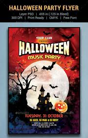 Halloween Flyers Templates 60 Premium Free Psd Halloween Flyer Templates Free Psd