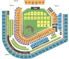 progressive field von progressive field seating chart cleveland oh city