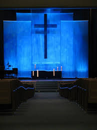 church lighting design ideas. Church Stage From Faith Lutheran In Troy, MI....I Like That Lighting Design Ideas