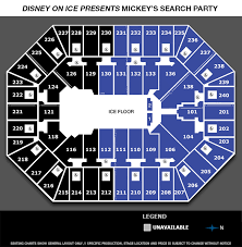 Disney On Ice Target Center Seating Chart Disney On Ice Mickeys Search Party Target Center