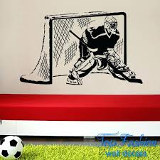 hockey wall decal articles with case study cylinder planter with wood stand  tag cool hockey wall