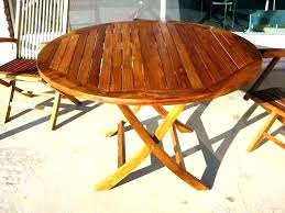 collapsible wood table wood folding dining table small round folding table awesome round wood patio table