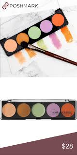 makeup forever camouflage cream palette no 5 basically new only 3