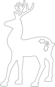 7db73b9bf255f5fe44653becb555ffe9 how to make a reindeer and santa sleigh part 1 reindeer, an and on dove ornament template