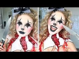 scary clown makeup tutorial w alex faction