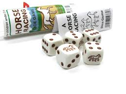 Wooden Horse Racing Dice Game Amazon Horse Racing Dice Game Toys Games 49