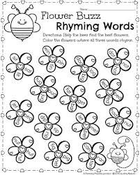156f4a6219fb4b4f2698a01cfb58d604 literacy worksheets rhyming words 778 best images about worksheets on pinterest kindergarten on theme and main idea worksheet